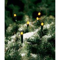 Venkovní mini vánoční řetěz, 300 LED, žlutý