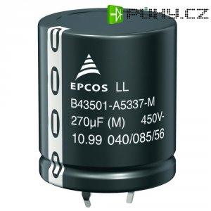 Snap In kondenzátor elektrolytický Epcos B43501-C5107-M, 100 µF, 450 V, 20 %, 25 x 30 mm