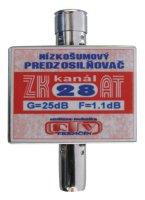 Anténní zesilovač ZK28AT 25dB IEC
