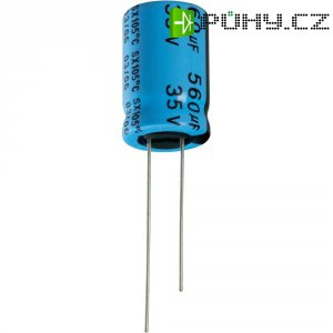 Kondenzátor elektrolytický Yageo SX010M0068B2F-0511, 68 µF, 10 V, 20 %, 11 x 5 mm