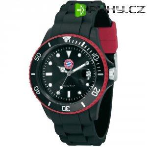 Ručičkové náramkové hodinky FC Bayern Candy Time Quartz, silikonový pásek, černá