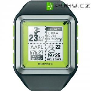 Smart watch MetaWatch Strata, 459, plastový pásek, zelená