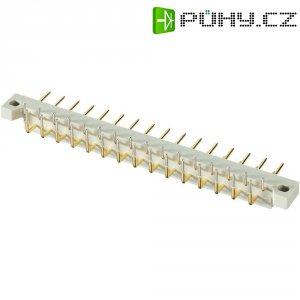 Pinová lišta Conec 101E10119X, 31pól., DIN 41617, 2,5 mm