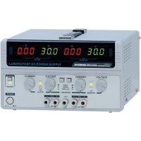 Laboratorní síťový zdroj GW Instek GPS-3303-E, 0 - 30 V/DC, 0 - 3 A, 195 W