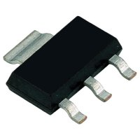 Darlingtonùv tranzistor Infineon BCP 28, PNP, SOT-223, 500 mA, 30 V
