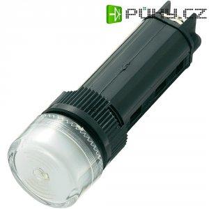 Sirénka / kontrolka, 80 dB 24 V / DC, 16 mm, bílá