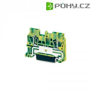 Průchodová svorka s tažnou pružinou Phoenix Contact ST 2,5 PE (3031238), zelenožlutá