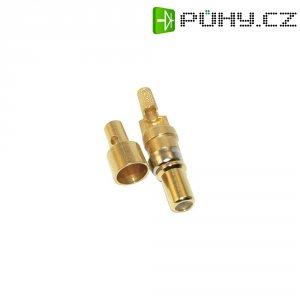 Koaxiální kolíkový kontakt Conec 131J30019X, 179 B/U 187 A/U (B = 7,3), pozlacený