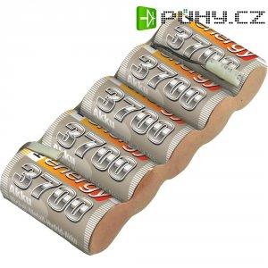 Akupack přijímače NiMH Conrad Energy Sub-C, 4,8 V, 4200 mAh, Side, s páj. hroty