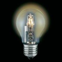 Halogenová žárovka Sygonix, E27, 70 W, stmívatelná, teplá bílá