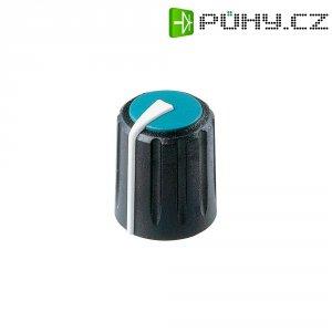 Otočný knoflík Rean Flexifit F 313 S 096, 7,5 mm, černá/modrá