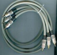 3xCinch-3xCinch Hi-Fi 1,5m, kabel 6mm, DOPRODEJ