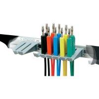 Sada měřicích kabelů banánek 4 mm ⇔ banánek 4 mm SKS Hirschmann PMS 4 LMLH, 1 m