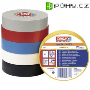 Izolační páska Tesa 4163-178-92, 15 mm x 33 m, černá