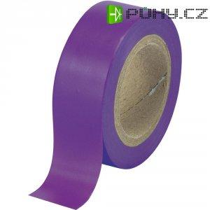 Izolační páska SW12-014PL, 93014c604, 19 mm x 25 m, fialová