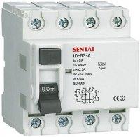 Chránič ID 400V/40A-300mA 3fázový na DIN lištu DOPRODEJ