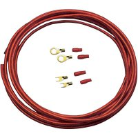 Sada kabelu a zástrček pro autobaterii Sinus Live BK-6P, 6 mm², 5 m