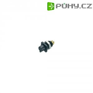 Kulatý konektor submin. Binder 719 (09-9766-30-04), 4pól., zásuvka vest., 0,25 mm², IP40