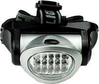 Svítilna LED 15x ,čelovka, napájení 3xAAA