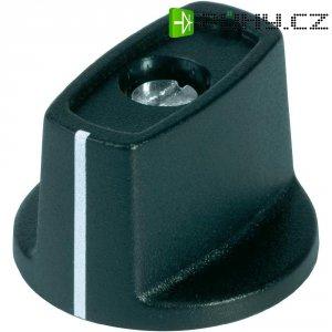 Otočný knoflík s ukazatelem OKW, Ø 16 mm, 4 mm, černá