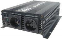 Měnič 12V/230V 1600W,modifikovaná sinus, Soluowill NM1,6K-12