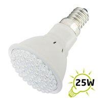 Žárovka LED E14/230V (54LED-H) 2.7W - bílá