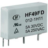 Síťové relé Hongfa HF49FD/005-1H12F, 5 A , 30 V/DC/ 250 V/AC , 1250 VA/ 150 W