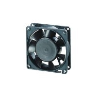 Axiální ventilátor EBM Papst, 8412 NGMLV, 12 V, 10 - 19 dBA, 80 x 80 x 25 mm