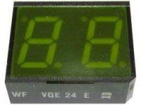 VQE24E zobrazovač .8.8., zelený, RFT