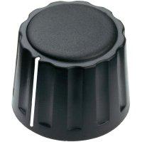 Otočný knoflík Mentor 4332.6001, 6 mm, matně černá
