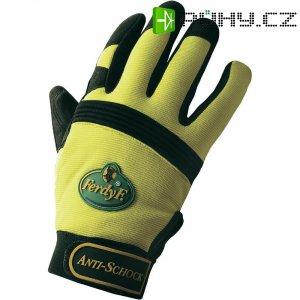 Pracovní rukavice anti-shock, CLARINOR - syntetická kůže, velikost L (9)