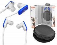 Sluchátka do uší LTC 67 BLUETOOTH modrá
