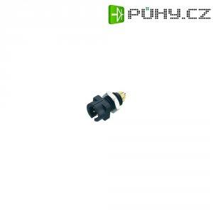 Kulatý konektor submin. Binder 719 (09-9765-30-04), 4pól., zástčka vest., 0,25 mm², IP40