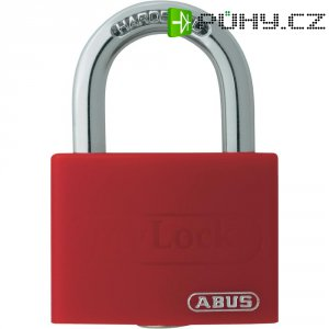 Visací zámek na klíč ABUS ABVS50011, 43 mm, červená