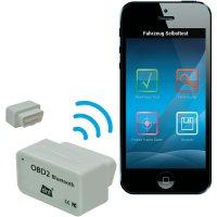 Automobilový diagnostický skener OBD II s Bluetooth, dnt 66713