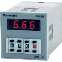 Multifunkční časové relé Panasonic QM4HGU1C48VJ, 100 - 240 V/AC/DC, 5 A