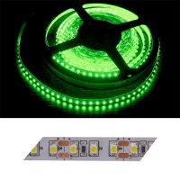 LED pásek 3528 120LED/m IP20 9.6W/m zelená (1ks=2,5cm)