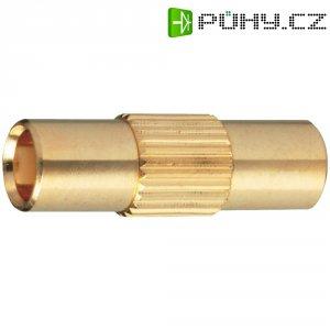 MCX zásuvka/zásuvka BKL 416302, 50 Ω, adaptér rovný