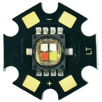 HighPower LED CREE, MCE4WT-A2-STAR-000M01, 350 mA, 3,2 V, 110 °, chladná bílá