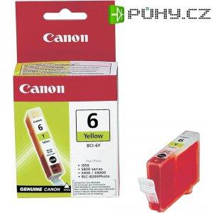 Cartridge Canon BCI-6Y, 4708A002, žlutá