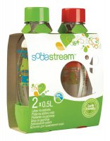 Sodastream láhev 1/2 l TP Red/Green