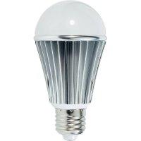 LED žárovka Renkforce E27, 7,5 W = 40 W, teplá bílá