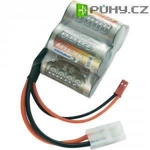 Akupack přijímače NiMH Conrad Energy Sub-C, 6 V, 3000 mAh, Hump, Tamiya / BEC