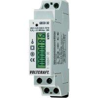 Jednofázový digitální elektroměr Voltcraft DPM1L32-D, na DIN lištu