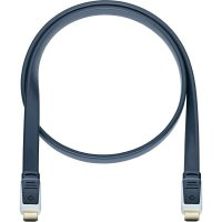 Oehlbach High Speed HDMI plochý kabel s Ethernetem, Flat Magic, 2,2 m