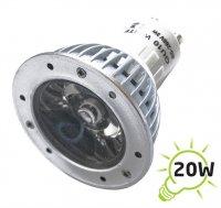 Žárovka LED GU10/230V (1x) - 3W bílá