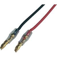 Kabel s koncovkou motoru Modelcraft, 1 pár, 1,5 mm, zástrčky