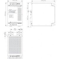 Zdroj na DIN lištu TracoPower TSP 480-124-3PAC400, 24 V/DC, 20 A