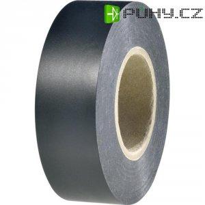 Izolační páska HellermannTyton HelaTapeFlex 1000+, 710-00602, 19 mm x 20 m, černá