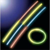 Svítící tyčinky Neon Knick, multicolor, 10 ks